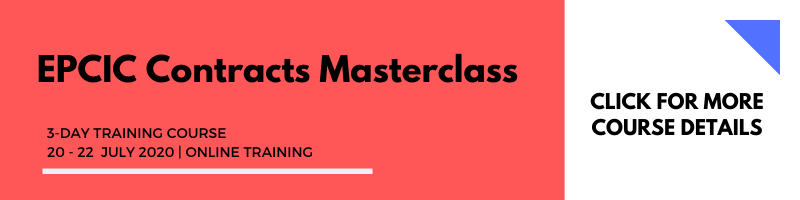 EPCIC Contracts Masterclass 20-22 July 2020 Online Training