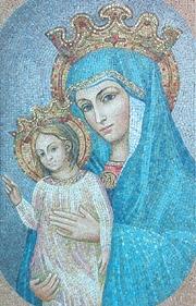 Risultato immagine per maria madre di cristo e della chiesa