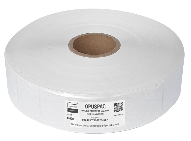 Rolo de embalagens de unitarização