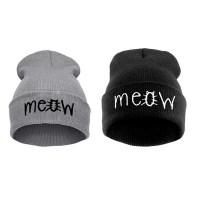 katten-muts-meow-zwart-grijs