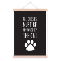 poster-all-guests-need-to-be-approved-by-the-cat-met-posterhanger