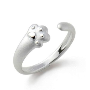 katten-ring-pawsome-zilver