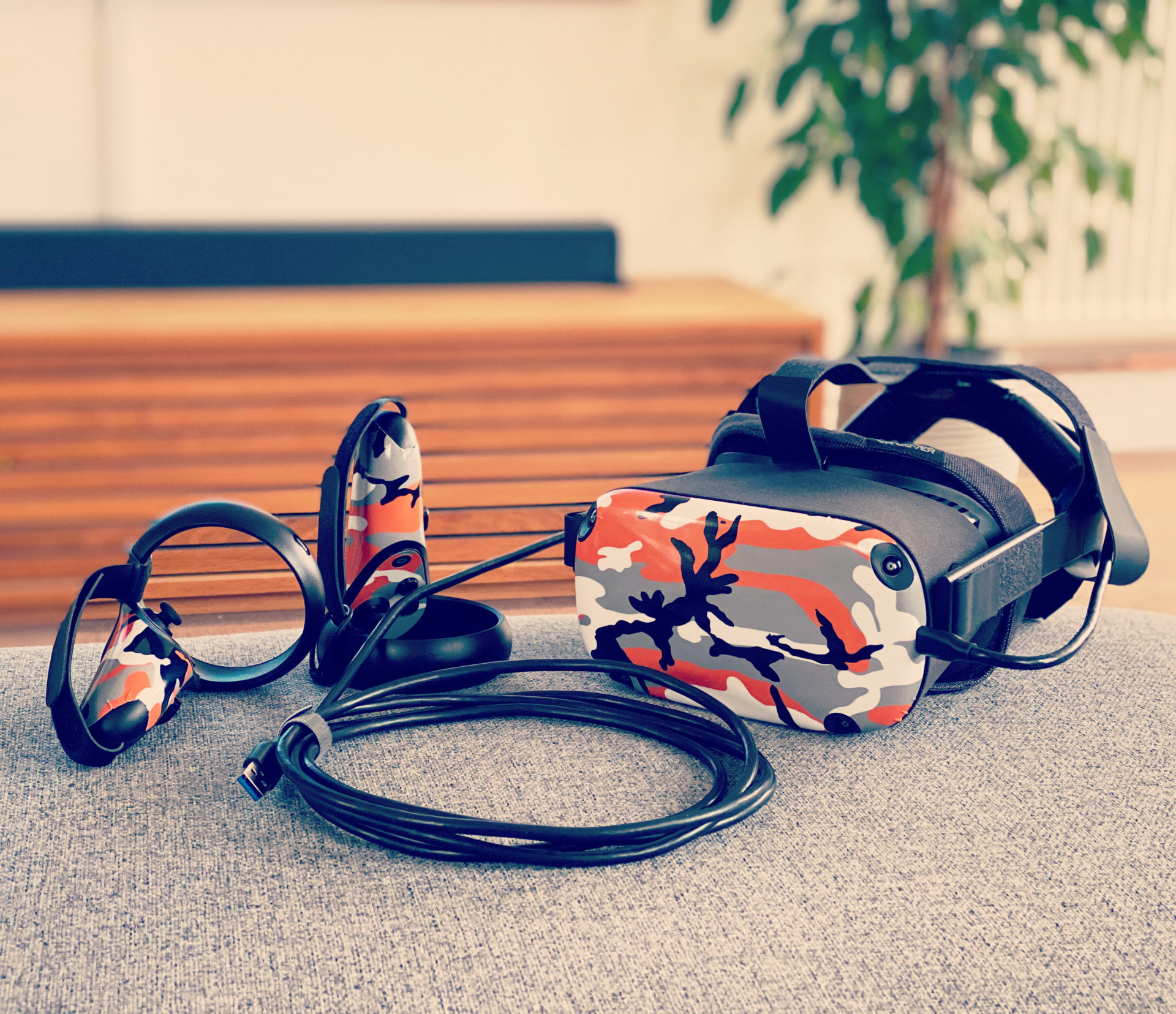 Alternative oculus link cable