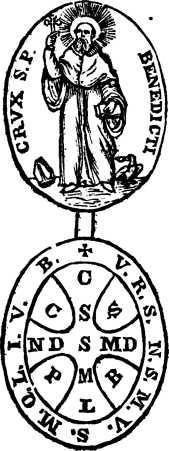 croce o medaglia da S. Benedetto - 1849