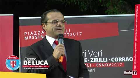 Cateno De Luca, l'impresentabile di Musumeci