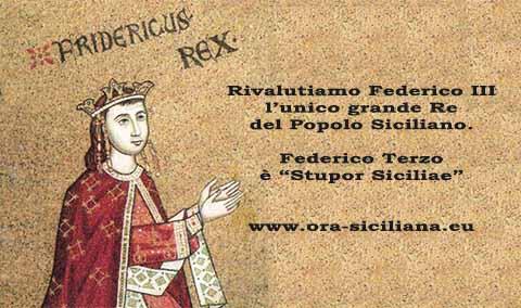 Federico Terzo è l'unico grande Re dei Siciliani