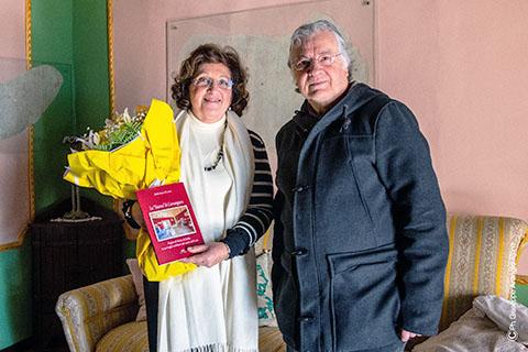 Carrangiana - Emilia Rosso di Cerami e Angelo Severino che l'ha intervistata
