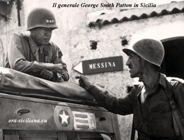 Sbarco in Sicilia. Generale Patton