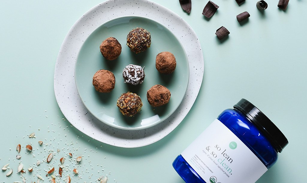 Easy Vegan Snack Chocolate Bites