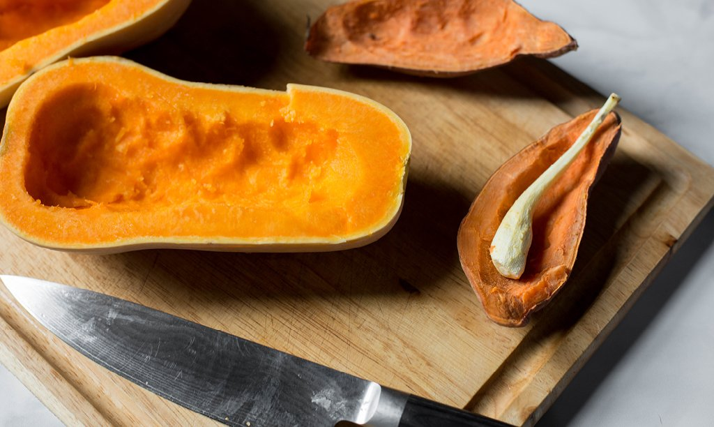 How to Stuff Squash