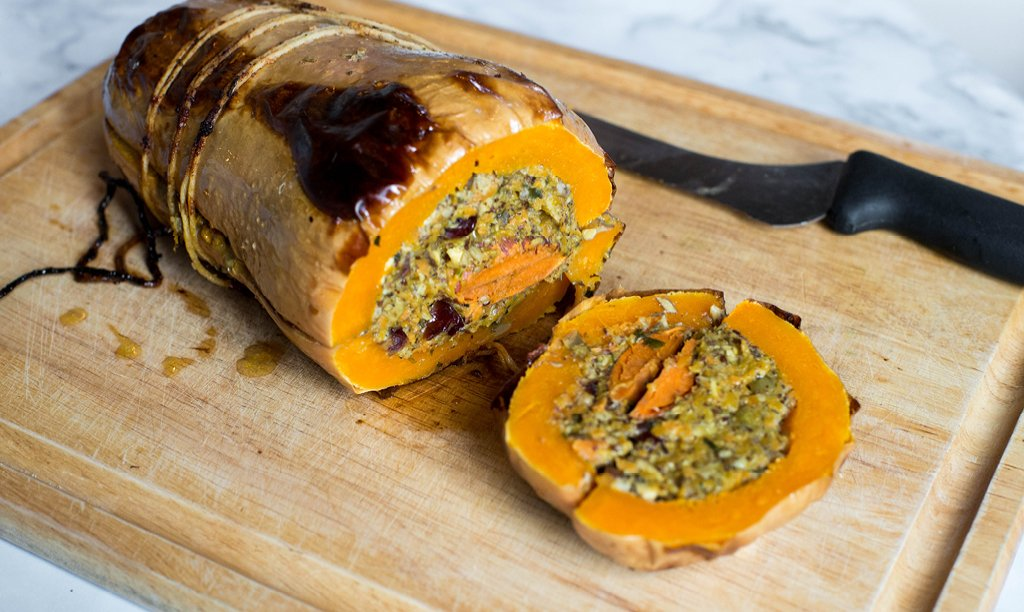 Vegan Turducken