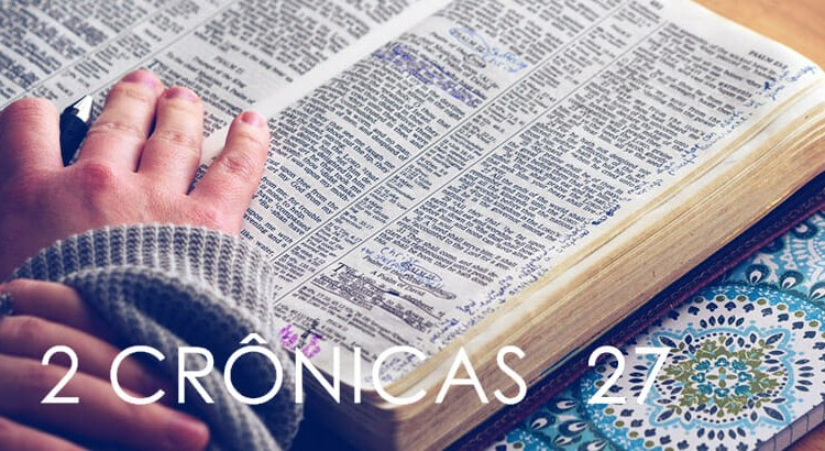 2 CRÔNICAS 27
