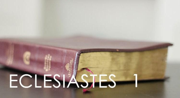 ECLESIASTES 1