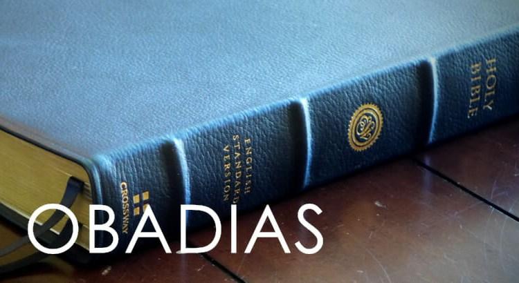 OBADIAS BÍBLIA