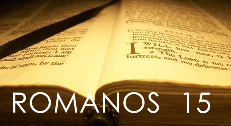 ROMANOS 15