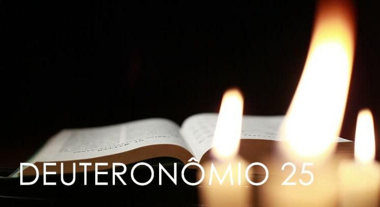 DEUTERONÔMIO 25