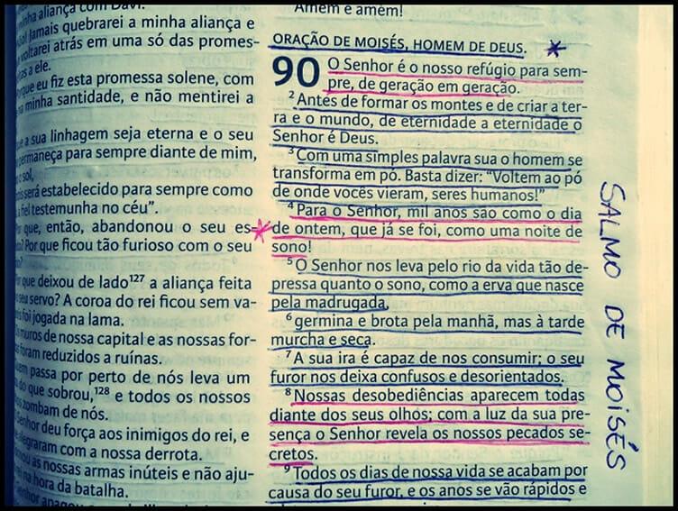 Salmo 90 na Bíblia