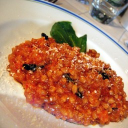 Farro Risotto With Tomatoes