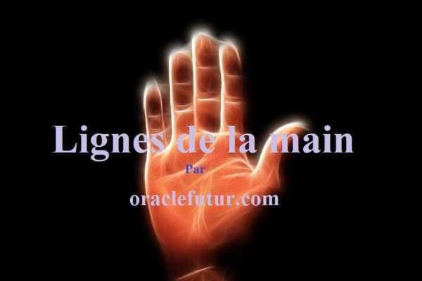 Que signifient les lignes de votre main?