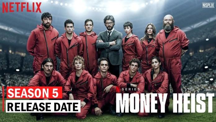 मनी हीस्ट सीजन 5 रिलीज की तारीख: ले कासा डी पैपेल, स्पॉइलर चेतावनी और अधिक के उत्पादन पर अपडेट