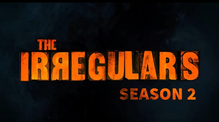 The Irregulars Season 2 Title poster