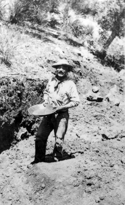 Panning Gold, circa 1909