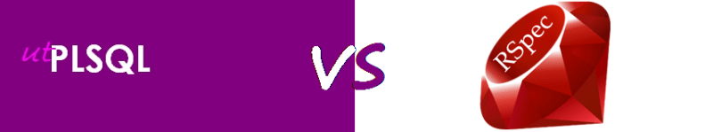 UTPLSQL_vs_RSpec
