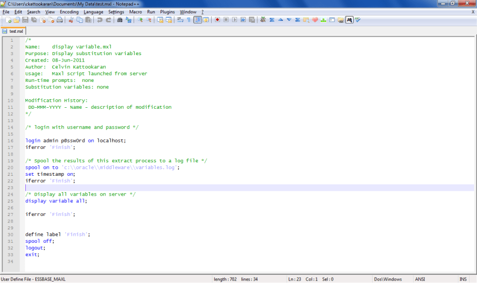 maxl png ~ Oracle - Hyperion Labs