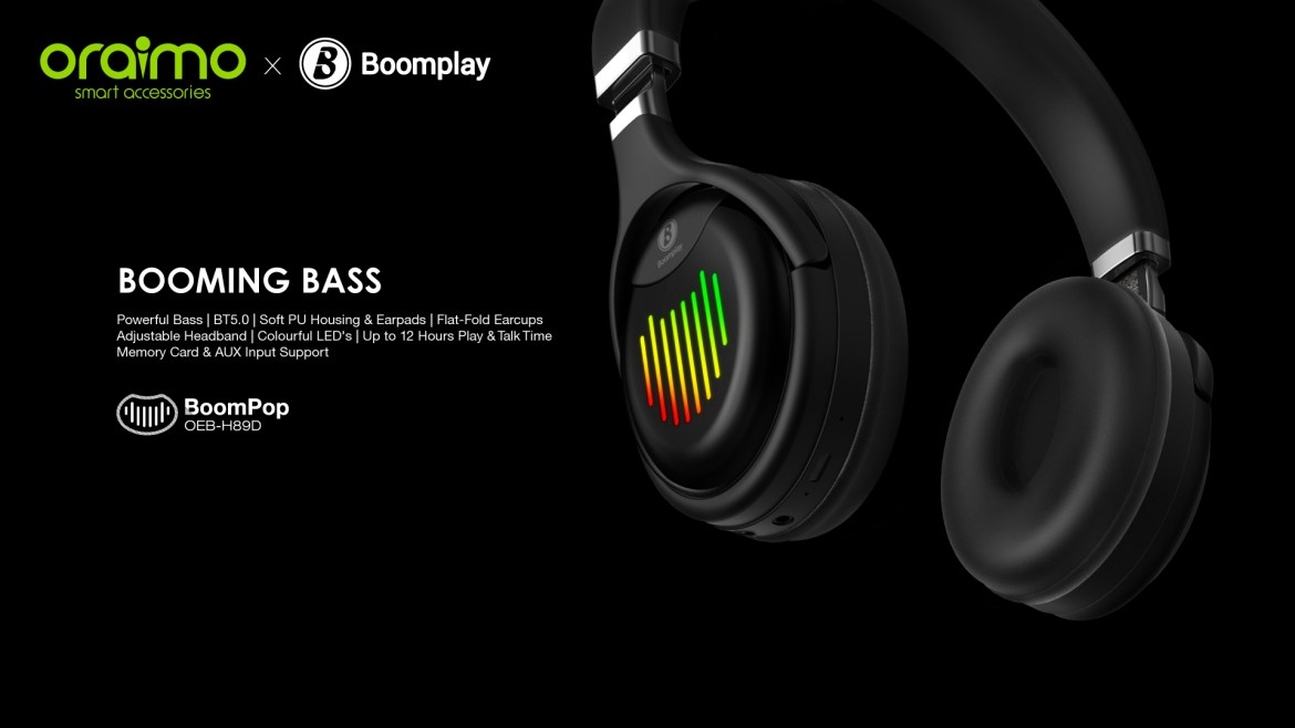 BoomPop - Products - oraimo