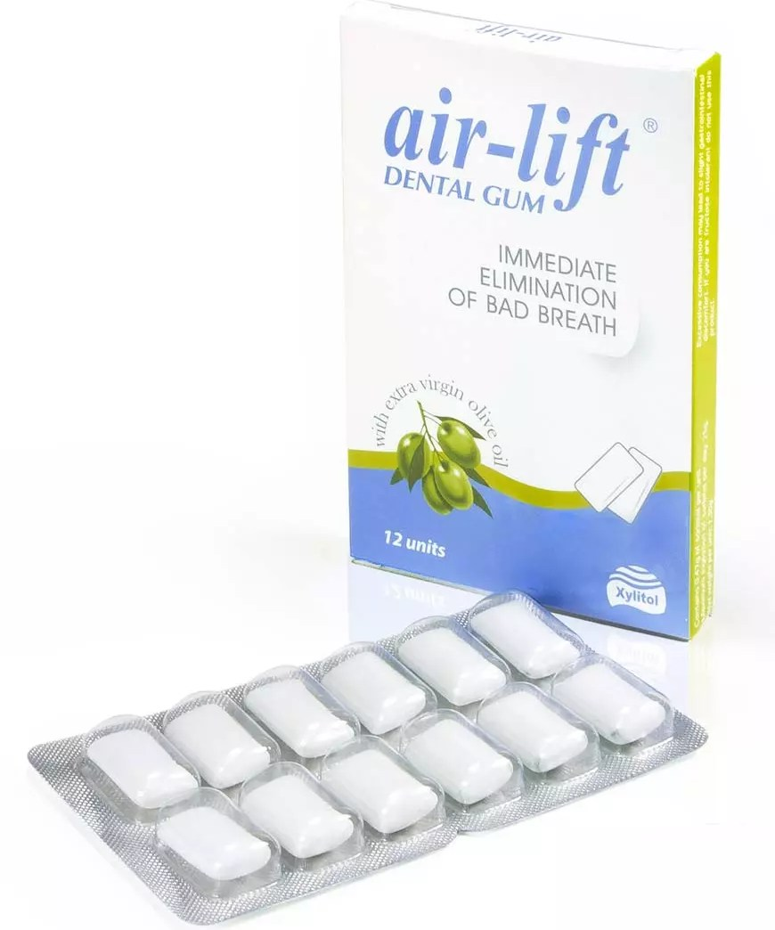 Airlift Bad Breath Eliminating Dental Gum