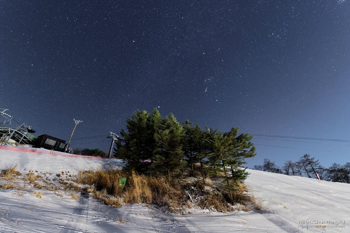 輕井澤冬季銀河