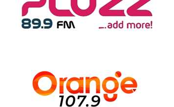 Orange FM and Pluzz FM had a beautiful 3-day colorful switch