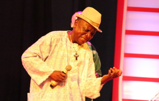 Highlife legend, Nana Kwame Ampadu has passed on after he was rushed to the Legon Hospital on Tuesday night due to a short illness.