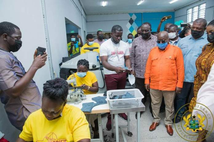 President Akufo-Addo has come at persons who doubted the campaign promises he made to Ghanaians during the build-up to the 2016 elections.