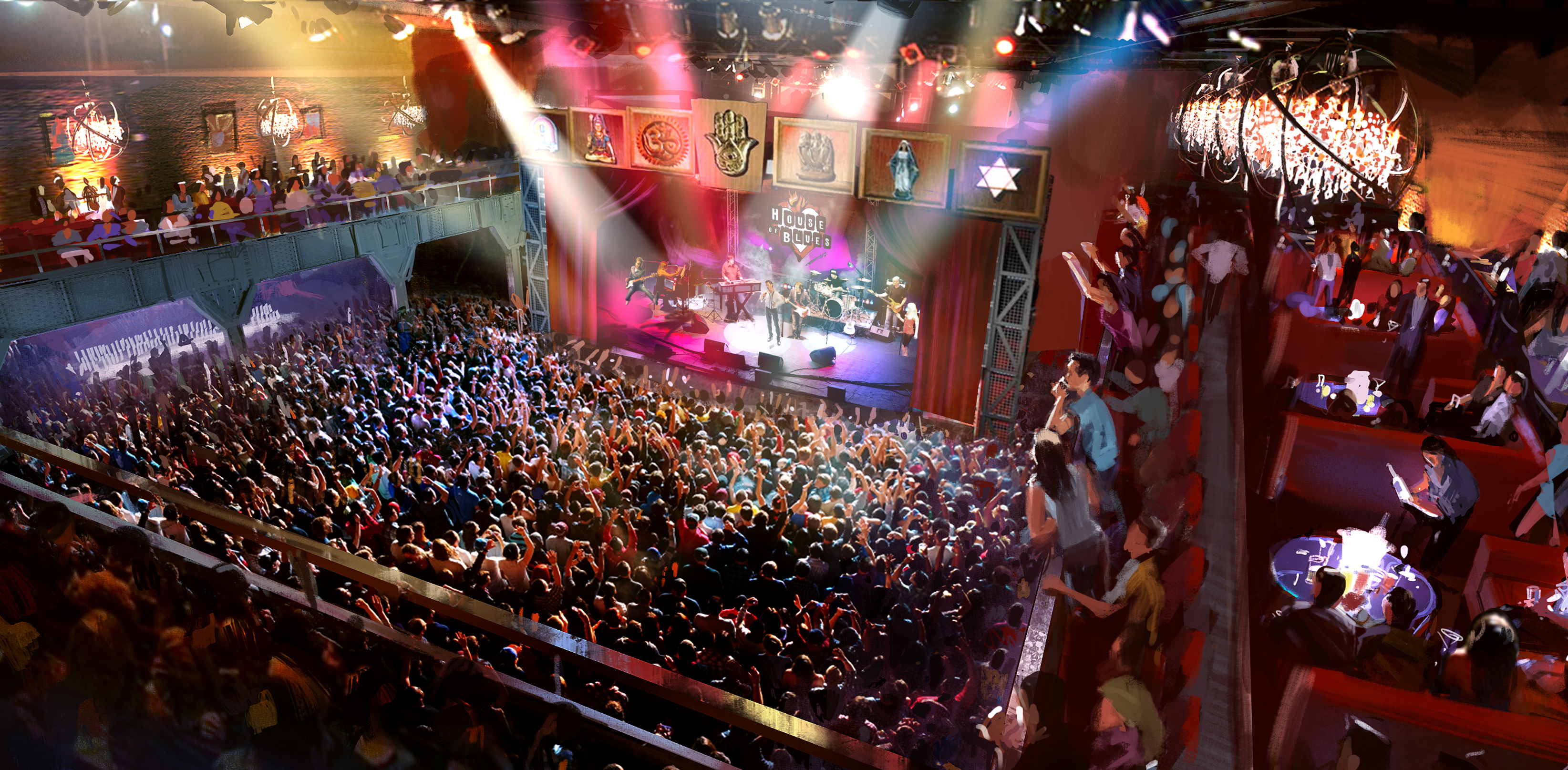 the five best features of o.c.'s new house of blues - orange coast
