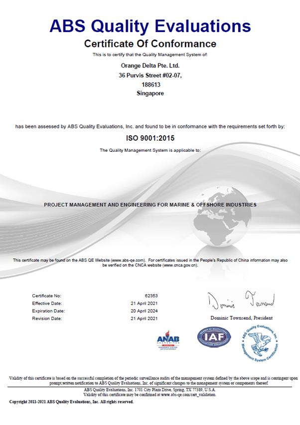 ISO9001-OrangeDelta