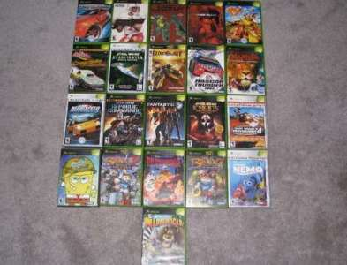Video Games   OrangeDove net Xbox Video Games Lot