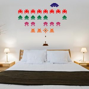 Vinilo-Decorativo-space-invaders
