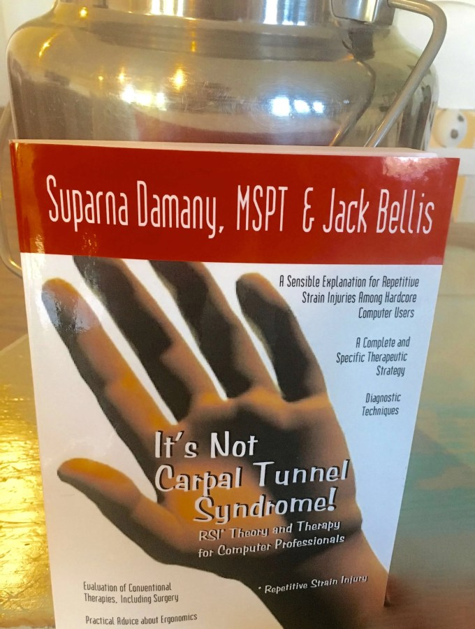 "Hand Or Wrist Pain From Milking?  Book Review: ""It's Not Carpal Tunnel Syndrome!"""