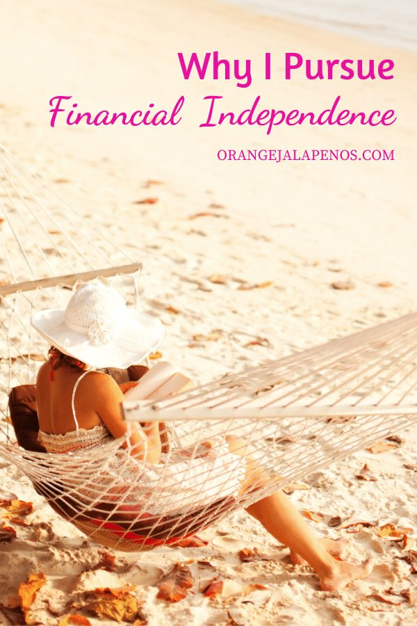 Why I Pursue Financial Independence