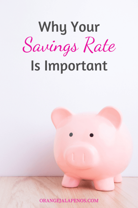 Why Your Savings Rate Is Important