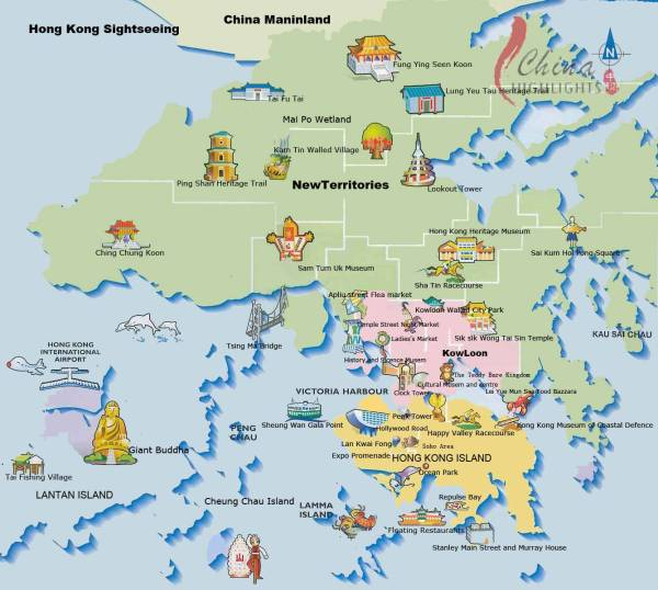 Large Hong Kong City Maps for Free Download and Print ...