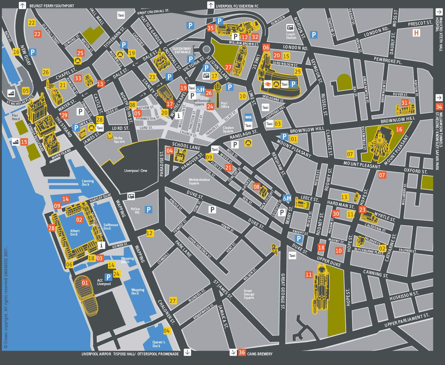 Large Liverpool Maps For Free Download And Print High