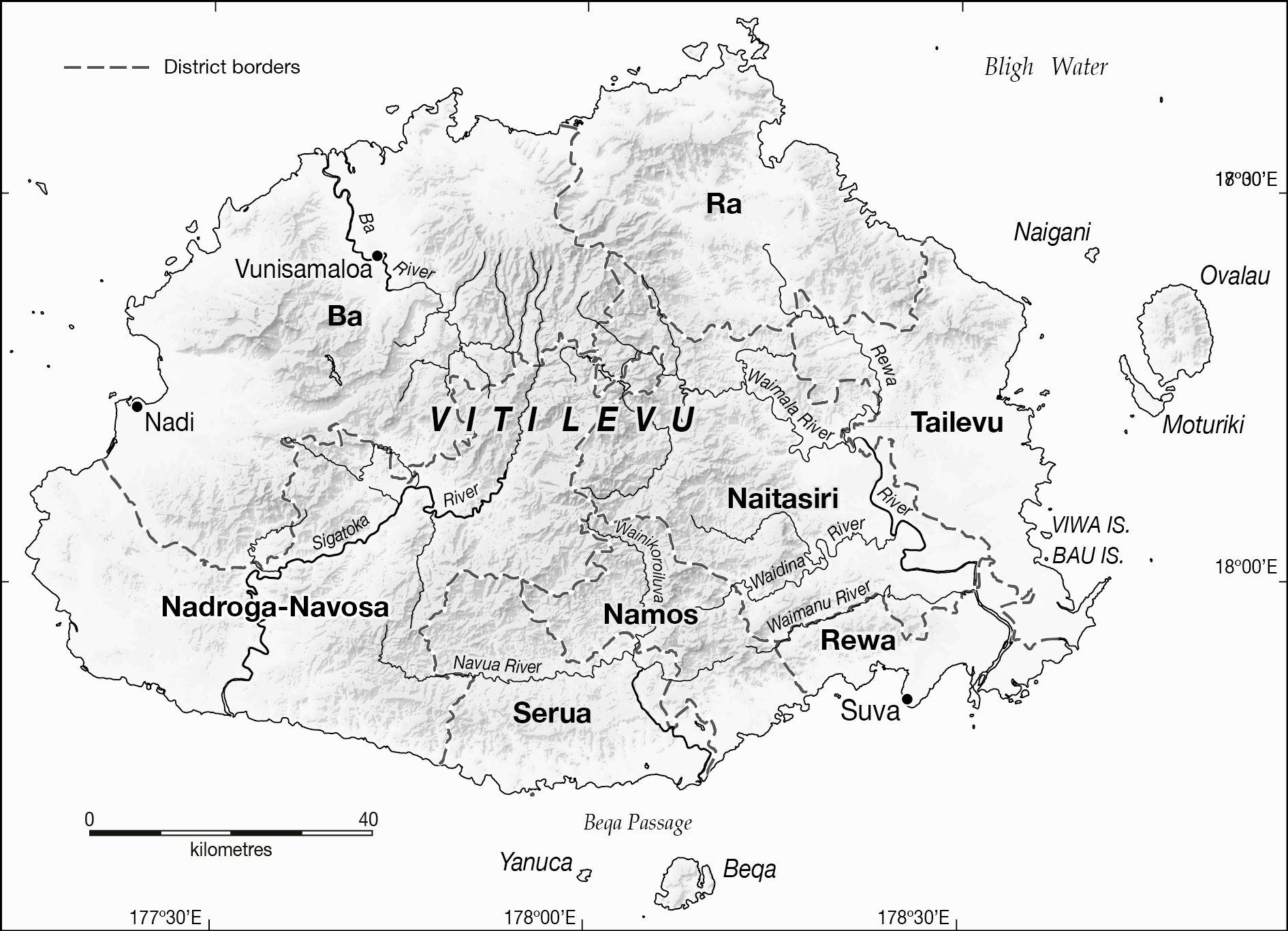 Large Viti Levu Island Maps For Free Download And Print