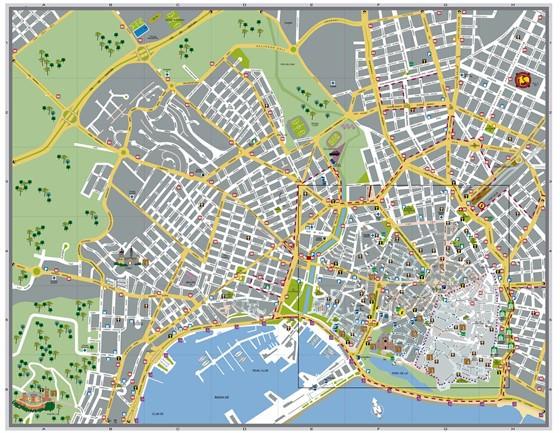 stadtplan von palma de mallorca