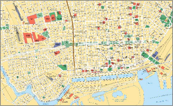 Buenos Aires Street Map