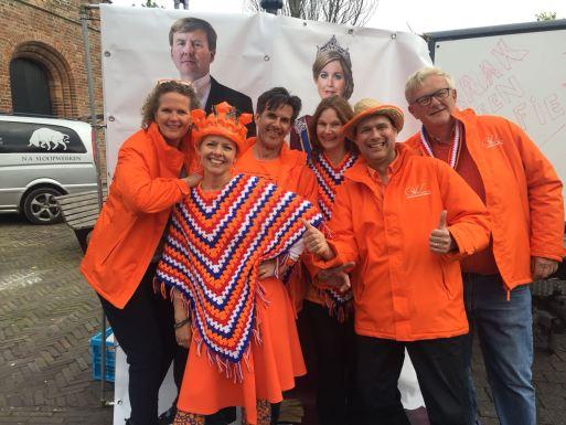 Oranje Comitee met Willem Alexander en Maxima