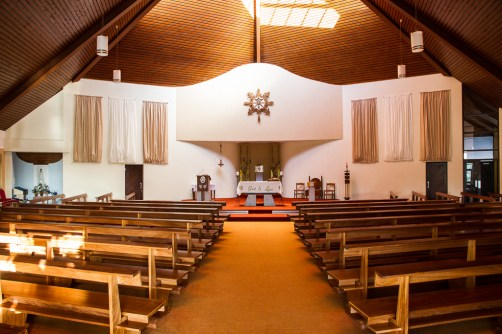 Inside Maree's Church