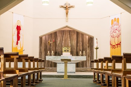 Altar in Oranmore Church