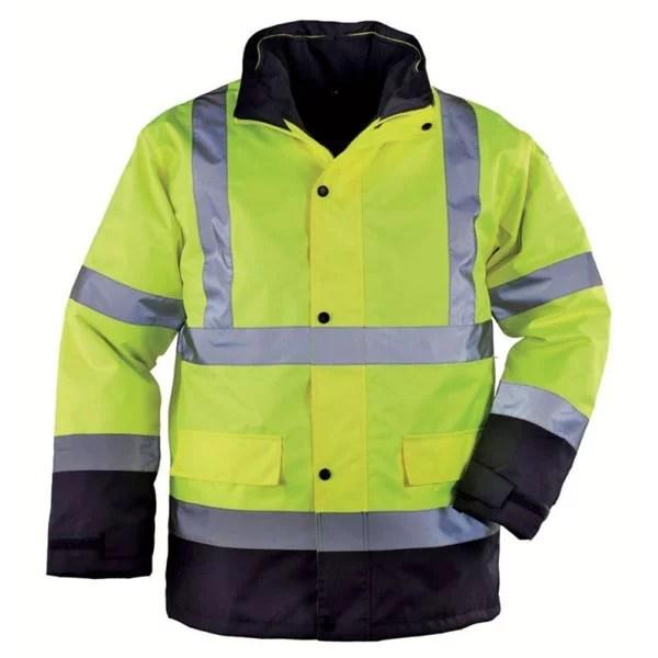 parka-haute-visibilite-coverguard-roadway-jaune-bleu-oran-protection-algerie